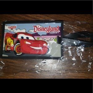 New Disney Cars Luggage Tag Lightning McQueen Car